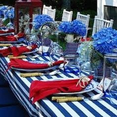 Newest 4th of july table decorations ideas 28