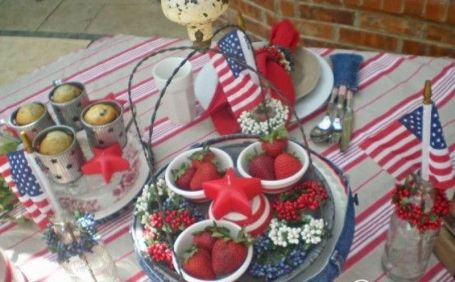 Newest 4th of july table decorations ideas 30