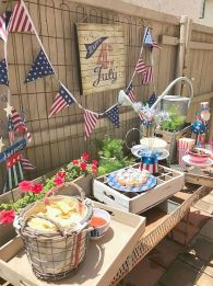 Newest 4th of july table decorations ideas 35