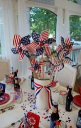 Newest 4th of july table decorations ideas 37