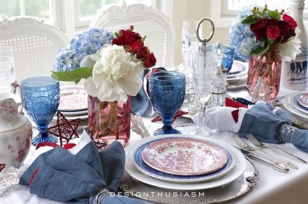Newest 4th of july table decorations ideas 43