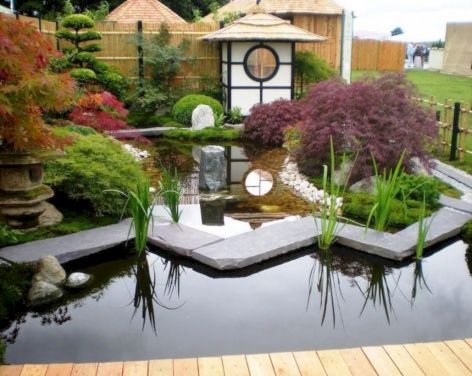 Outstanding japanese garden designs ideas for small space 09