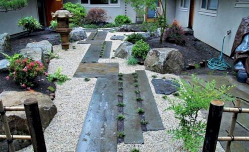 Outstanding japanese garden designs ideas for small space 31