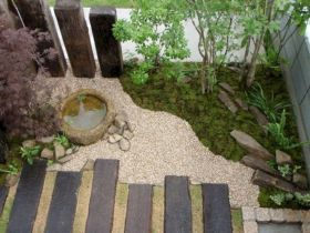 Outstanding japanese garden designs ideas for small space 37