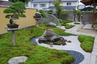 Outstanding japanese garden designs ideas for small space 42