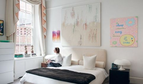Stunning eclectic collector bedroom ideas 01