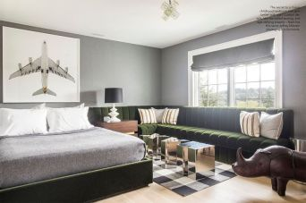 Stunning eclectic collector bedroom ideas 11