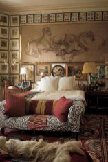 Stunning eclectic collector bedroom ideas 14