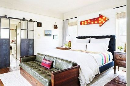 Stunning eclectic collector bedroom ideas 16