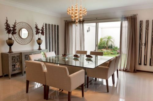 Stylish dining room design ideas 13