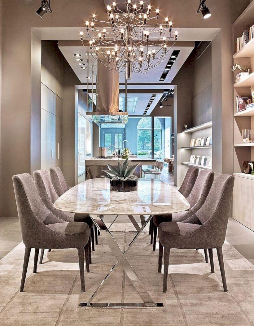 Stylish dining room design ideas 19