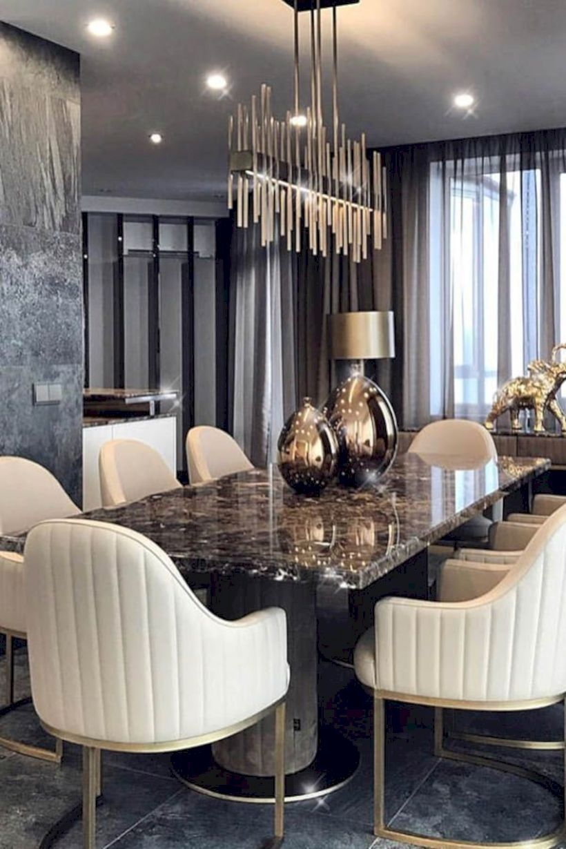 Stylish dining room design ideas 35