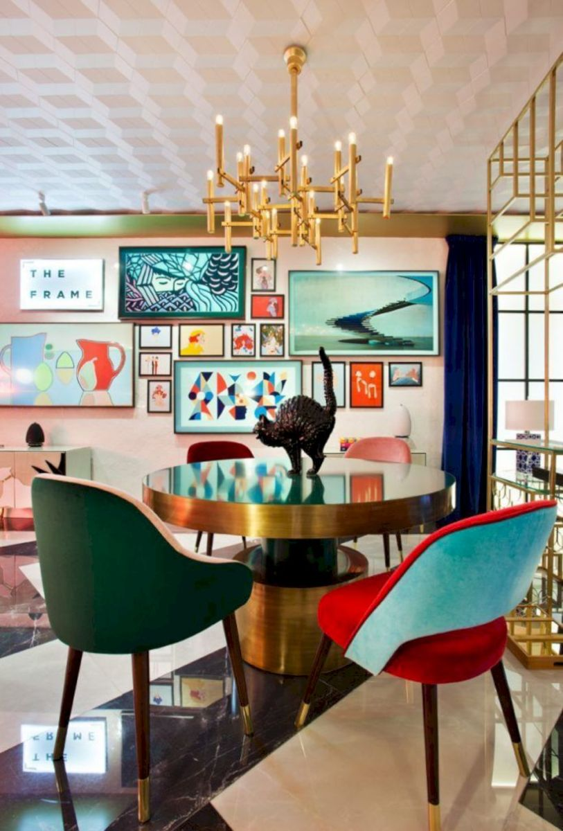 Stylish dining room design ideas 39