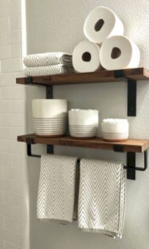 Unordinary bathroom accessories ideas 37
