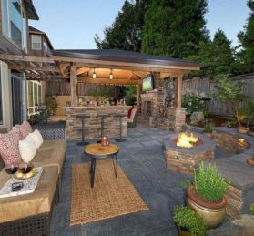 Unordinary patio designs ideas 24