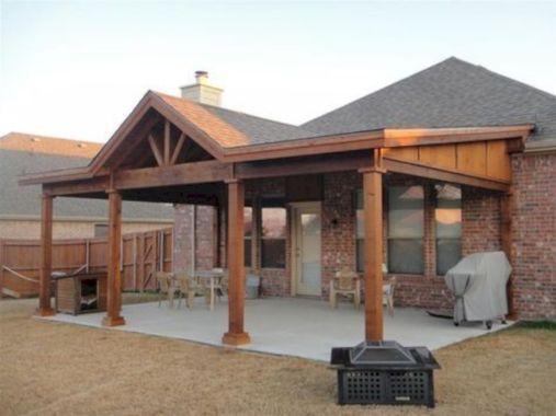 Unordinary patio designs ideas 36