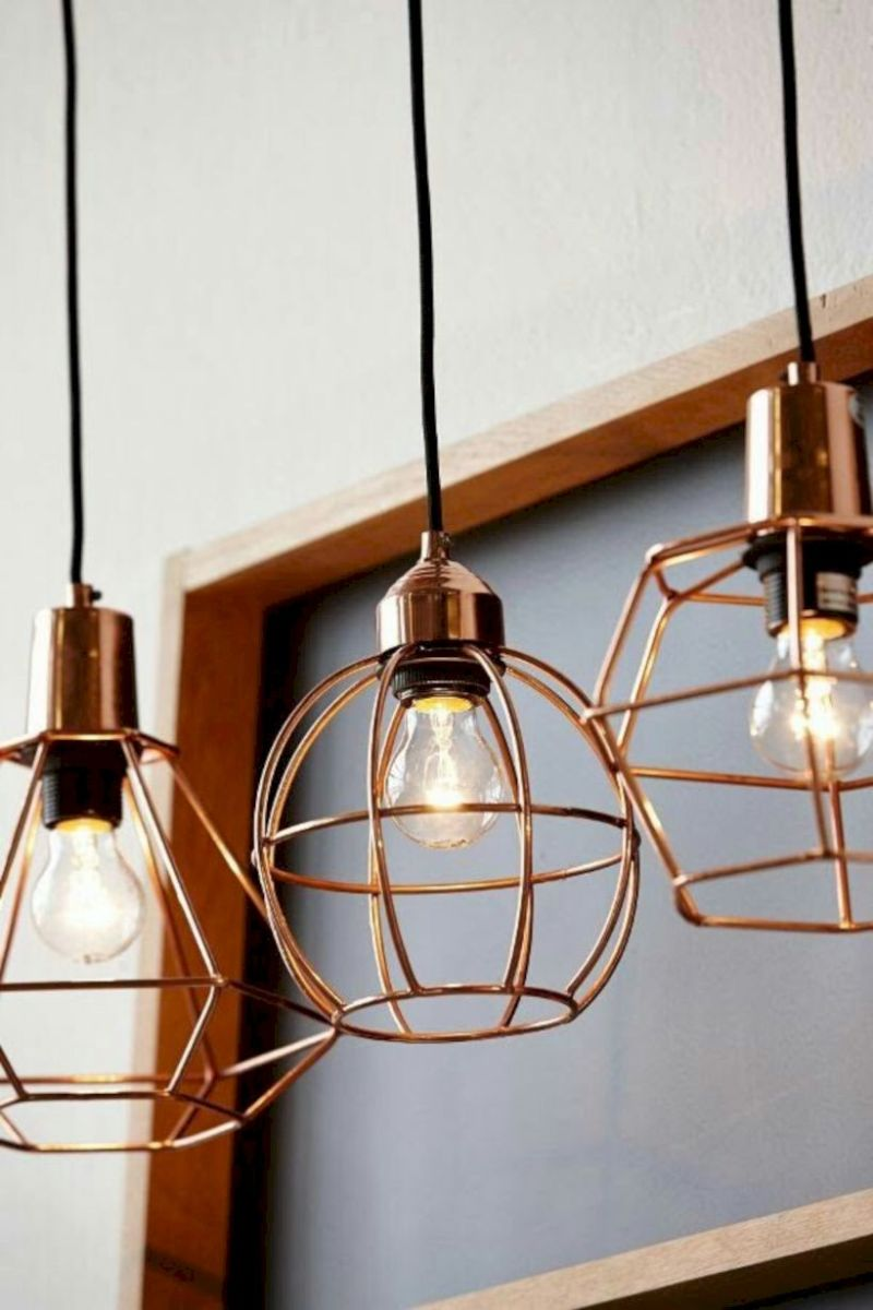 Unusual copper light designs ideas 05