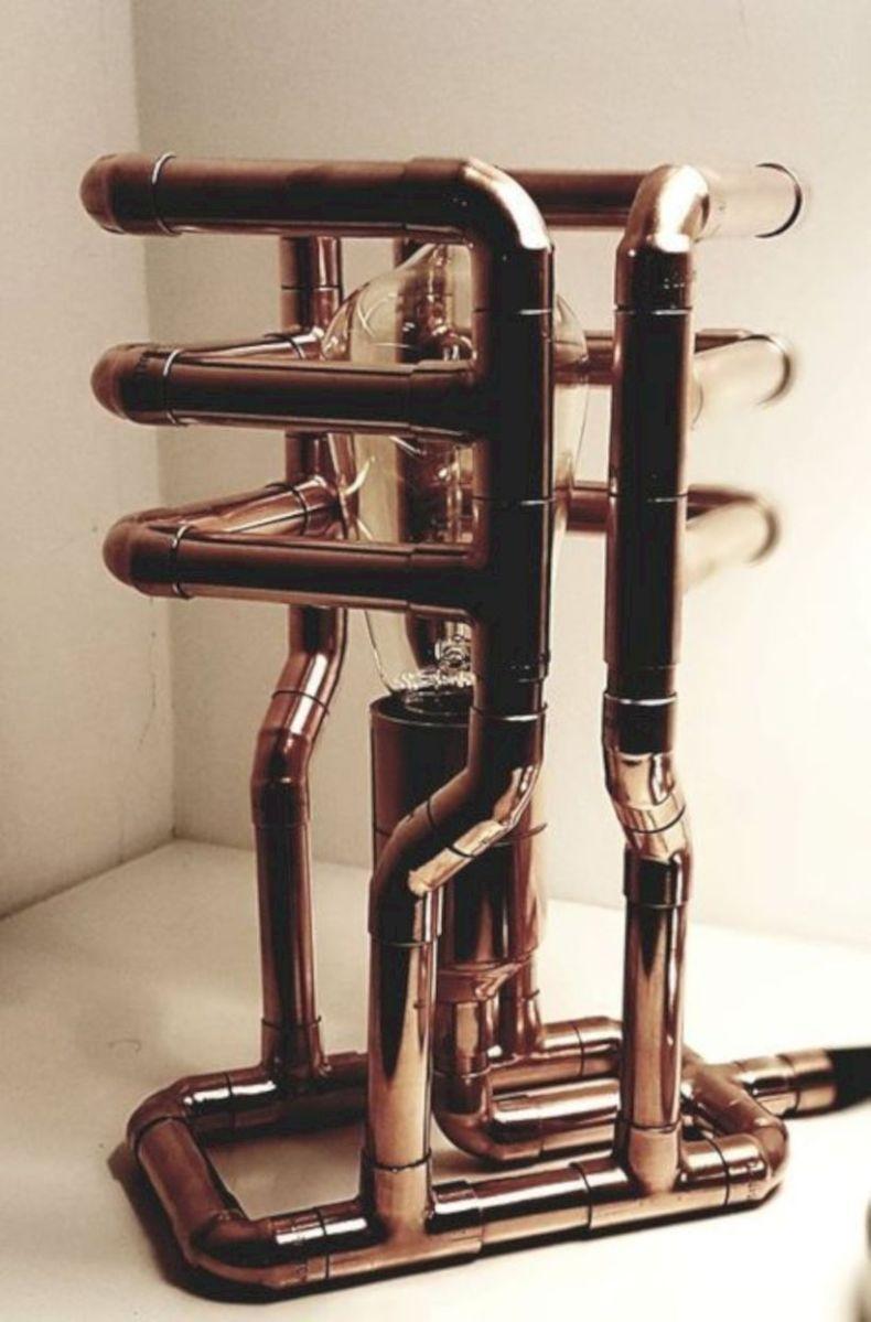 Unusual copper light designs ideas 16