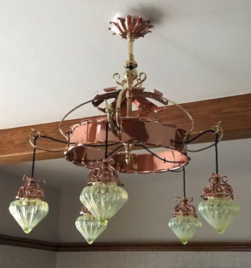 Unusual copper light designs ideas 44