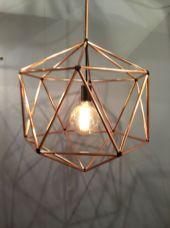 Unusual copper light designs ideas 47