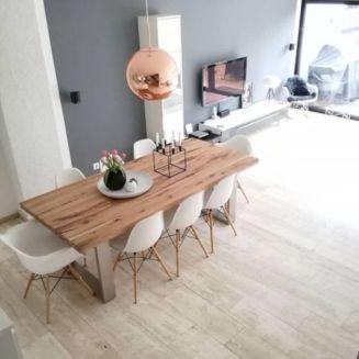 Adorable dining room tables contemporary design ideas 21