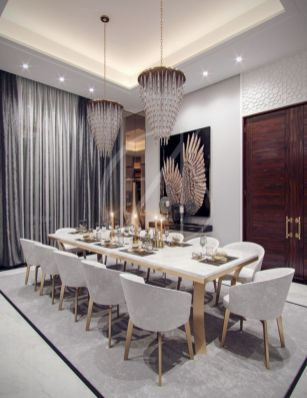 Adorable dining room tables contemporary design ideas 29