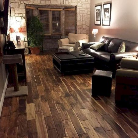 Awesome living room paint ideas by brown furniture 32