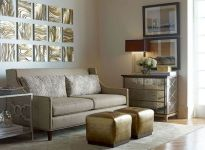Awesome living room paint ideas by brown furniture 46