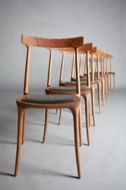 Best scandinavian chairs design ideas for dining room 46