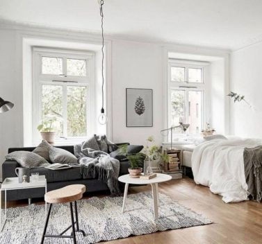 Cool diy beautiful apartments design ideas 08