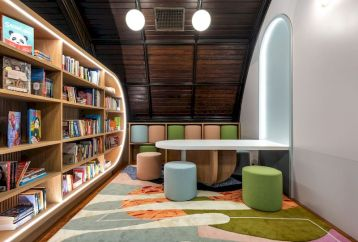 Creative library trends design ideas 34