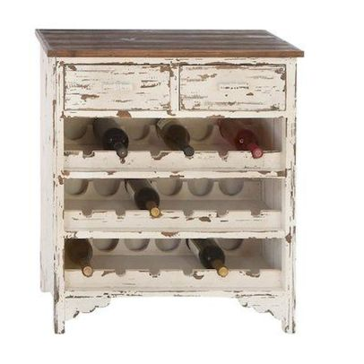 Elegant wine rack design ideas using wood 04