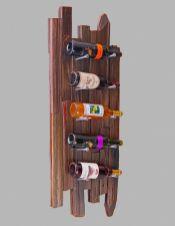 Elegant wine rack design ideas using wood 05