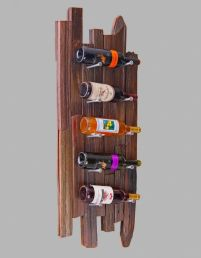 Elegant wine rack design ideas using wood 05