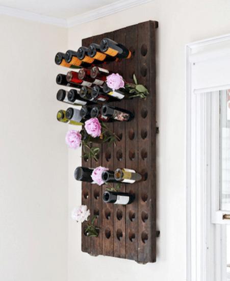 Elegant wine rack design ideas using wood 09