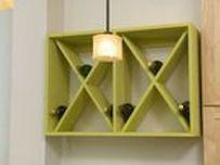 Elegant wine rack design ideas using wood 10