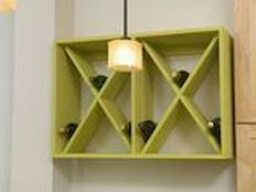 Elegant wine rack design ideas using wood 10