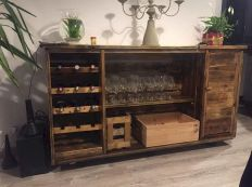 Elegant wine rack design ideas using wood 11