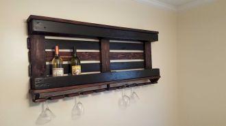 Elegant wine rack design ideas using wood 12