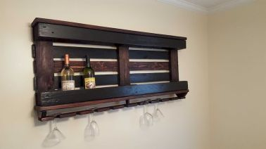 Elegant wine rack design ideas using wood 12