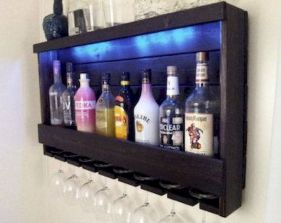 Elegant wine rack design ideas using wood 16