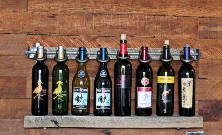 Elegant wine rack design ideas using wood 24