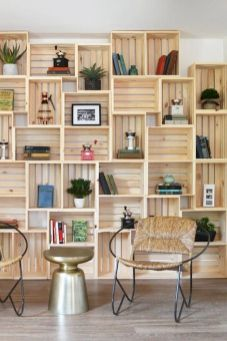 Elegant wine rack design ideas using wood 25