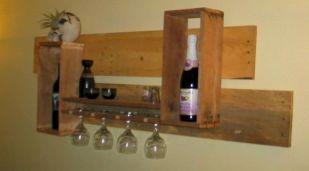 Elegant wine rack design ideas using wood 31