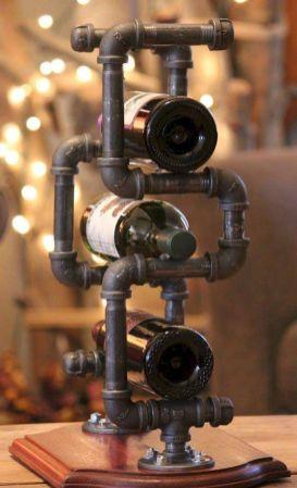 Elegant wine rack design ideas using wood 35