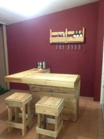 Elegant wine rack design ideas using wood 51