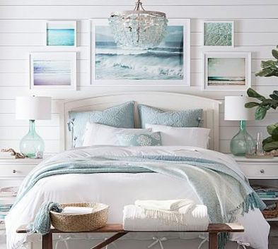 Gorgeous coastal bedroom design ideas to copy right now 06