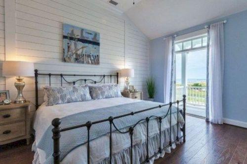 Gorgeous coastal bedroom design ideas to copy right now 29