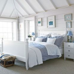 Gorgeous coastal bedroom design ideas to copy right now 34