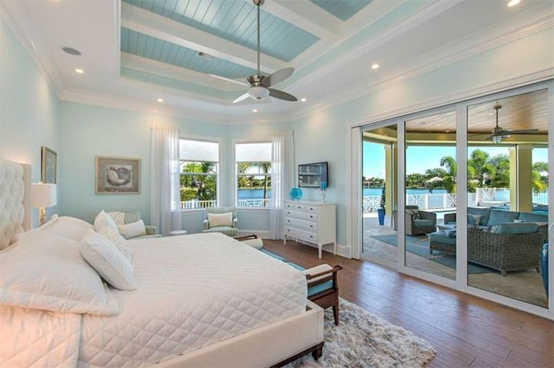 Gorgeous coastal bedroom design ideas to copy right now 40